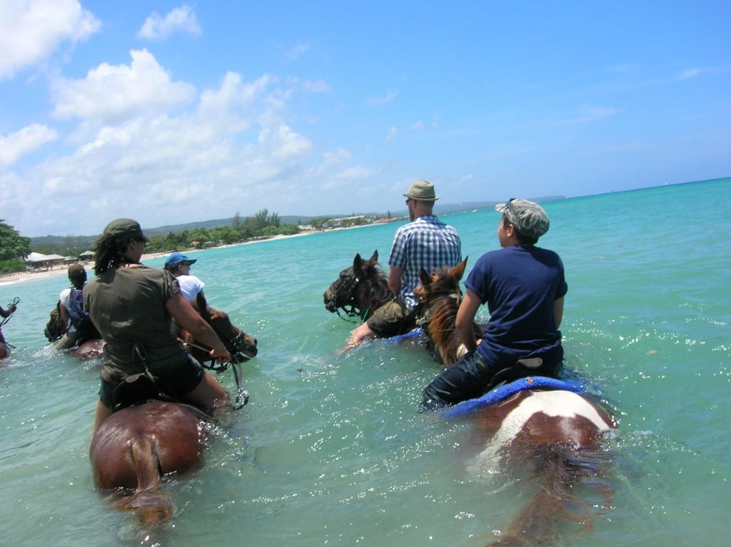 Riding in Runaway Bay