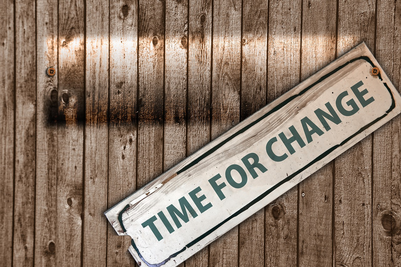 Is it time for change?